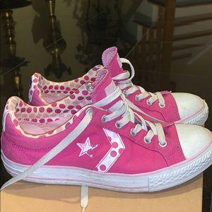 Pink Converse Women's Size 5